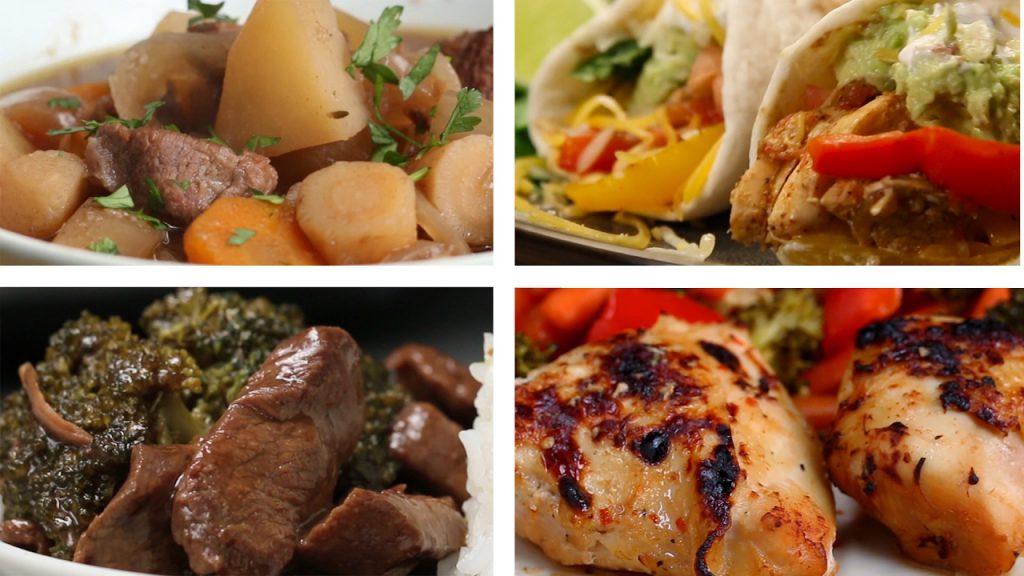 6 Slow Cooker Meals